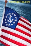 U.S. YACHT ENSIGN - All Sizes
